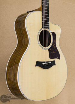 Taylor 214ce DLX - Figured Ovangkol LTD (214ce-FODLXLTD) | Northeast Music Center Inc.