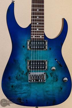 Ibanez RG421PB - Sapphire Blue Flat | Northeast Music Center Inc.