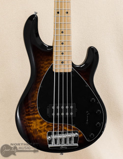 Sterling by Music-Man Ray35QM - Island Burst (RAY35QM-ILB-M2) | Northeast Music Center Inc.