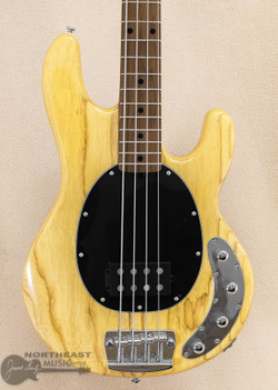 Sterling by Music-Man Ray34 - Natural Ash | Northeast Music Center Inc.