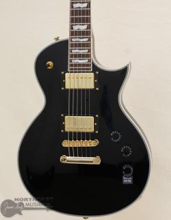 ESP/LTD EC-256 - Black w/ Gold Hardware (LEC256BLK) | Northeast Music Center Inc.