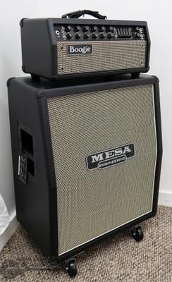 Mesa Boogie Mark V:35 w/ 2x12 Vertical Recto Cabinet - Black Taurus w/ Cream Black Grille | Northeast Music Center Inc.