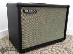 Mesa Boogie 1x12 Widebody Closed Back Cabinet - Black Taurus w/ Cream Black Grille | Northeast Music Center Inc.