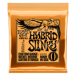 Ernie Ball Hybrid Slinky (.09-.46) Electric Guitar Strings (P02222) | Northeast Music Center Inc.