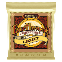Ernie Ball Earthwood Light Acoustic Guitar Strings (P02004) | Northeast Music Center Inc.