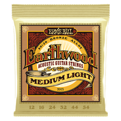 Ernie Ball Earthwood Medium Light Acoustic Guitar Strings (P02003) | Northeast Music Center Inc.