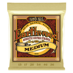 Ernie Ball Earthwood Medium Acoustic Guitar Strings (P02002) | Northeast Music Center Inc.