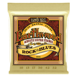 Ernie Ball Earthwood Rock and Blues Acoustic Guitar Strings (P02008) | Northeast Music Center Inc.