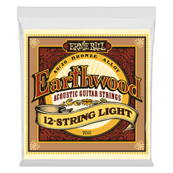 Ernie Ball Earthwood 12-Strings Light Acoustic Guitar Strings (P02010) | Northeast Music Center Inc.