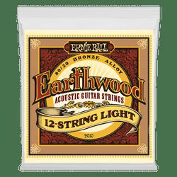 Ernie Ball Earthwood 12-Strings Light Acoustic Guitar Strings (P02010) | Northeast Music Center Inc.