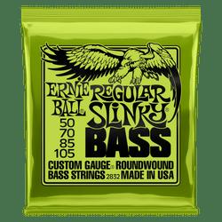 Ernie Ball Regular Slinky Bass Guitar Strings (P02832) | Northeast Music Center Inc.