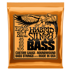 Ernie Ball Hybrid Slinky Bass Guitar Strings (P02833) | Northeast Music Center Inc.