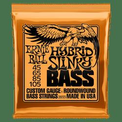 Ernie Ball Hybrid Slinky Bass Guitar Strings (P02833) | Northeast Music Center Inc.