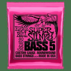 Ernie Ball Super Slinky 5 Bass Guitar Strings (P02824) | Northeast Music Center Inc.