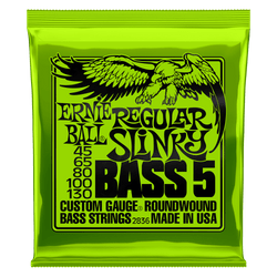 Ernie Ball Regular Slinky 5 Bass Guitar Strings (P02836) | Northeast Music Center Inc.