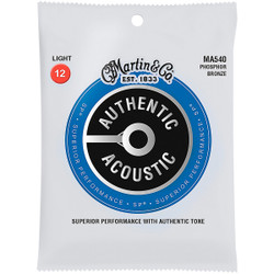 Martin Authentic Acoustic SP® 92/8 Bronze Guitar Strings (AuthenticSP-92/8) | Northeast Music Center Inc.