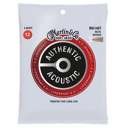 Martin Lifespan 2.0 80/20 Bronze Acoustic Guitar Strings (LIFESPAN 2.0) | Northeast Music Center Inc.