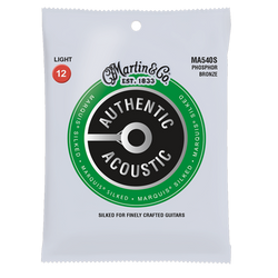 Martin Authentic Acoustic Marquis® Silked Acoustic Guitar Strings (MARQUIS) | Northeast Music Center Inc.
