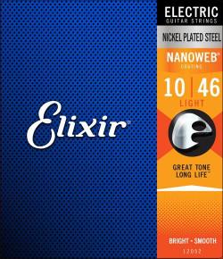 Elixir Nickel Plated Steel w/ NANOWEB Coating Electric Guitar Strings | Northeast Music Center Inc.