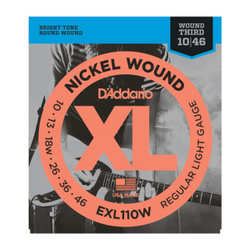 D'Addario XL Nickel Wound Regular Light Gauge w/ Wound Third Electric Guitar Strings | Northeast Music center Inc.