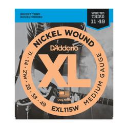 D'Addario XL Nickel Wound Medium Gauge w/ Wound Third | Northeast Music Center Inc.