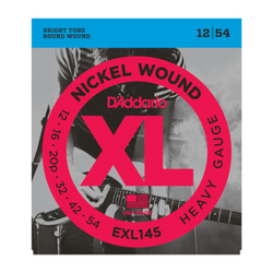D'Addario XL Nickel Wound Heavy Gauge Electric Guitar Strings | Northeast Music Center Inc.