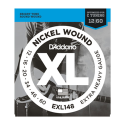 D'Addario XL Nickel Wound Extra Heavy Gauge Electric Guitar Strings | Northeast Music Center Inc.