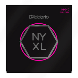 D'Addario NYXL Nickel Wound Super Light Gauge (9-42) | Northeast Music Center Inc.