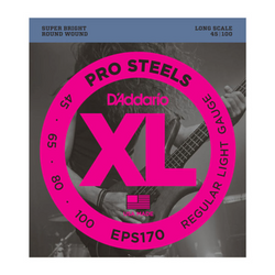 D'Addario Pro Steels Light Gauge Bass Strings | Northeast Music Center Inc.