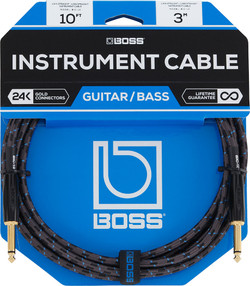 BOSS BIC-10 Foot Straight Instrument Cable | Northeast Music Center Inc.