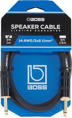 BOSS 3-Foot Speaker Cable (BSC-3) | Northeast Music Center Inc.