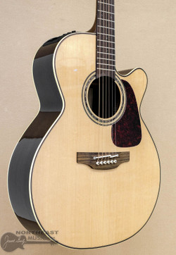 Takamine Guitars P5NC Acoustic/Electric Guitar - Natural | Northeast Music Center Inc.