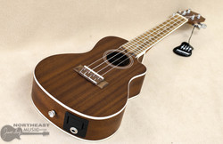 Lanikai Concert Ukulele - Natural Mahogany w/ Pickup | Northeast Music Center Inc.