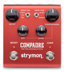 Strymon Compadre Dual Voice Compressor & Boost (COMPADRE) | Northeast Music Center Inc.