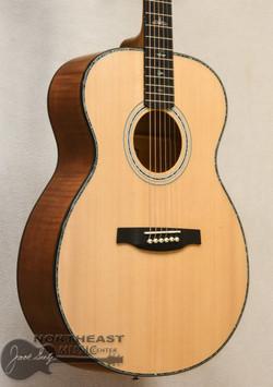 PRS SE T50E Tonare Flame Maple - Black Gold (s/n: 4521) | Northeast Music Center Inc.