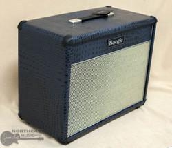 Mesa Boogie 1x12 Lonestar Open Back Cabinet - Navy Croc, Cream/Black Grille | Northeast Music Center Inc.