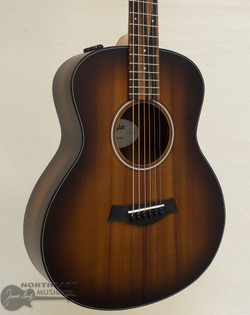 Taylor GS Mini-e Koa Plus Acoustic Electric Guitar - Shaded Edge Burst | Northeast Music Center Inc.