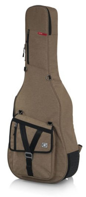 Gator Transit Acoustic Guitar Gig Bag - Tan (GT-ACOUSTIC-TAN) | Northeast Music Center Inc.