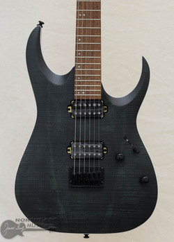 Ibanez RGA42FM - Transparent Gray Flat (RGA42FMTGF) | Northeast Music Center Inc.