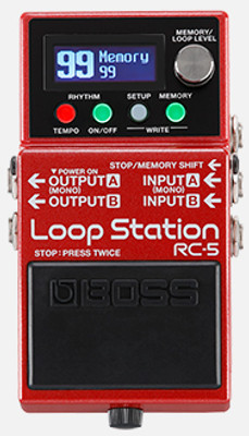 BOSS RC-5 Loop Station (RC-5) | Northeast Music Center Inc.
