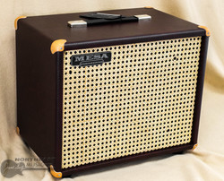 Mesa Boogie 1x12 Theile Cabinet - Wine Taurus, Wicker Grille | Northeast Music Center Inc.