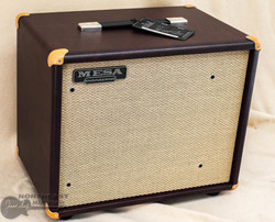 Mesa Boogie 1x12 Theile Cabinet - Wine Taurus, Tan Grille | Northeast Music Center Inc.