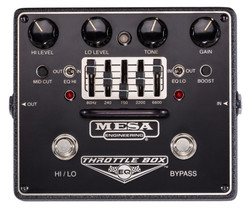 Mesa Boogie Throttlebox EQ Dual Mode Overdrive Pedal with 5 Band EQ