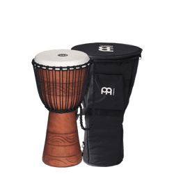 "Meinl Original African Style Rope Tuned Wood Djembe 10"" w/ Bag"