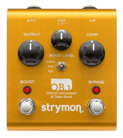 Strymon OB.1 BASS Optical Compressor & Clean Boost