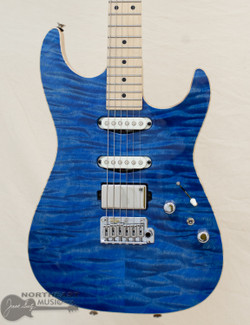 Tom Anderson Drop Top S - Jacks Pacific Blue w/ Binding (11-01-20N) | Northeast Music Center Inc.