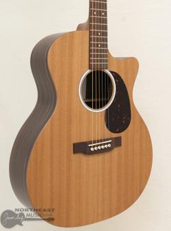 C.F. Martin GPC-X2E Macassar Acoustic Electric Guitar (GPCX2E-03)   Northeast Music Center Inc.