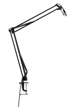 Gator Frameworks Desktop Mounted Broadcast/Podcast Mic Boom Stand (GFWMICBCBM1000) | Northeast Music Center Inc.