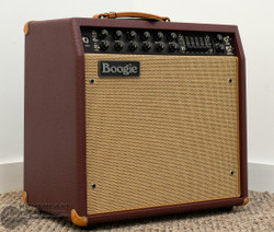Mesa Boogie Mark V: 35 All Tube Guitar Combo Amplifier - British Cabernet Bronco, Tan Jute Grille | Northeast Music Center Inc.