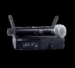 Shure SLXD24/B58 Wireless Microphone (SLXD24/B58-G58) | Northeast Music Center Inc.